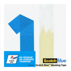 Ruban de Masquage Finitions Parfaites Scotchblue™