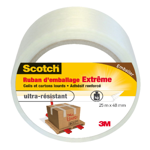 Scotch® Ruban d'Emballage Extrême 25m x 48mm