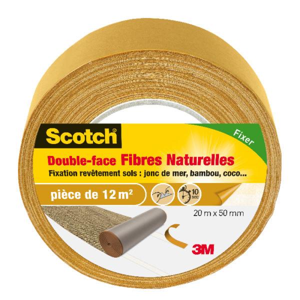 Scotch® Double-Face Sols Fibres Naturelles
