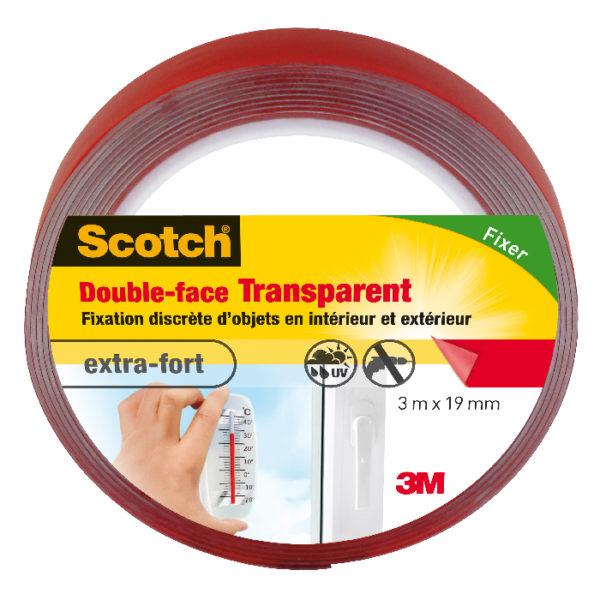 Scotch® Double-Face Transparent