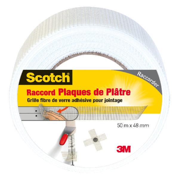 Scotch® Raccord Plaques de Plâtre Blanc 50m