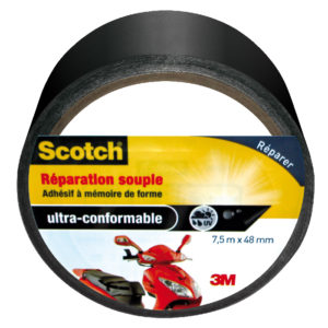 Scotch® Toile de Réparation Souple Noir 7,5m