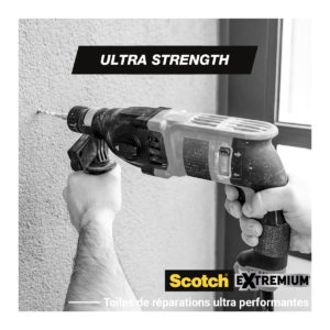Toile de Réparation Extremium™ ULTRA Noir