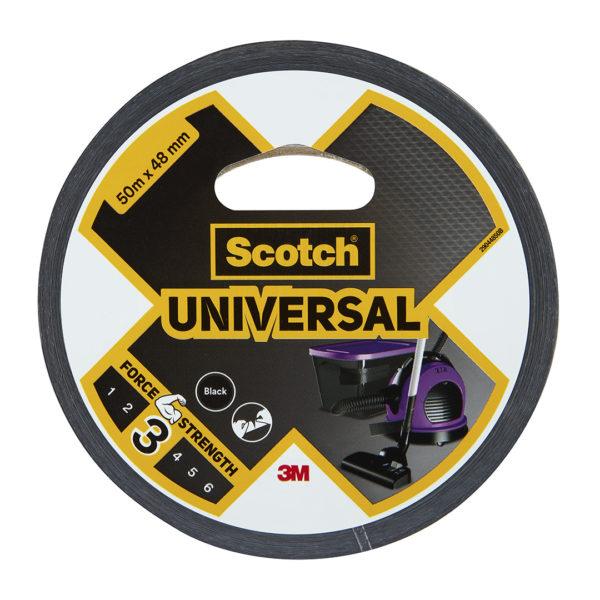 Toile de Réparation Scotch® UNIVERSAL Noir 25m