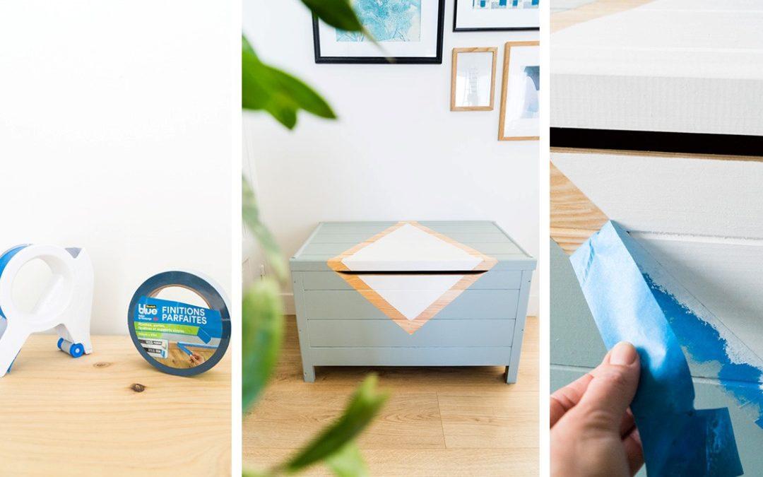 Peindre un motif sur un meuble